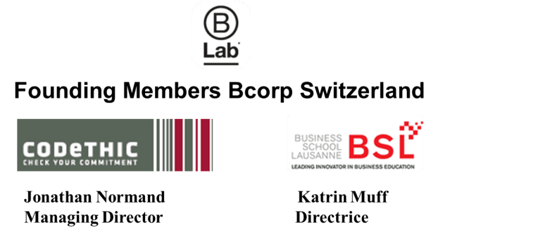 Bsl And Codethic Organize The First B Corp Forum In Switzerland